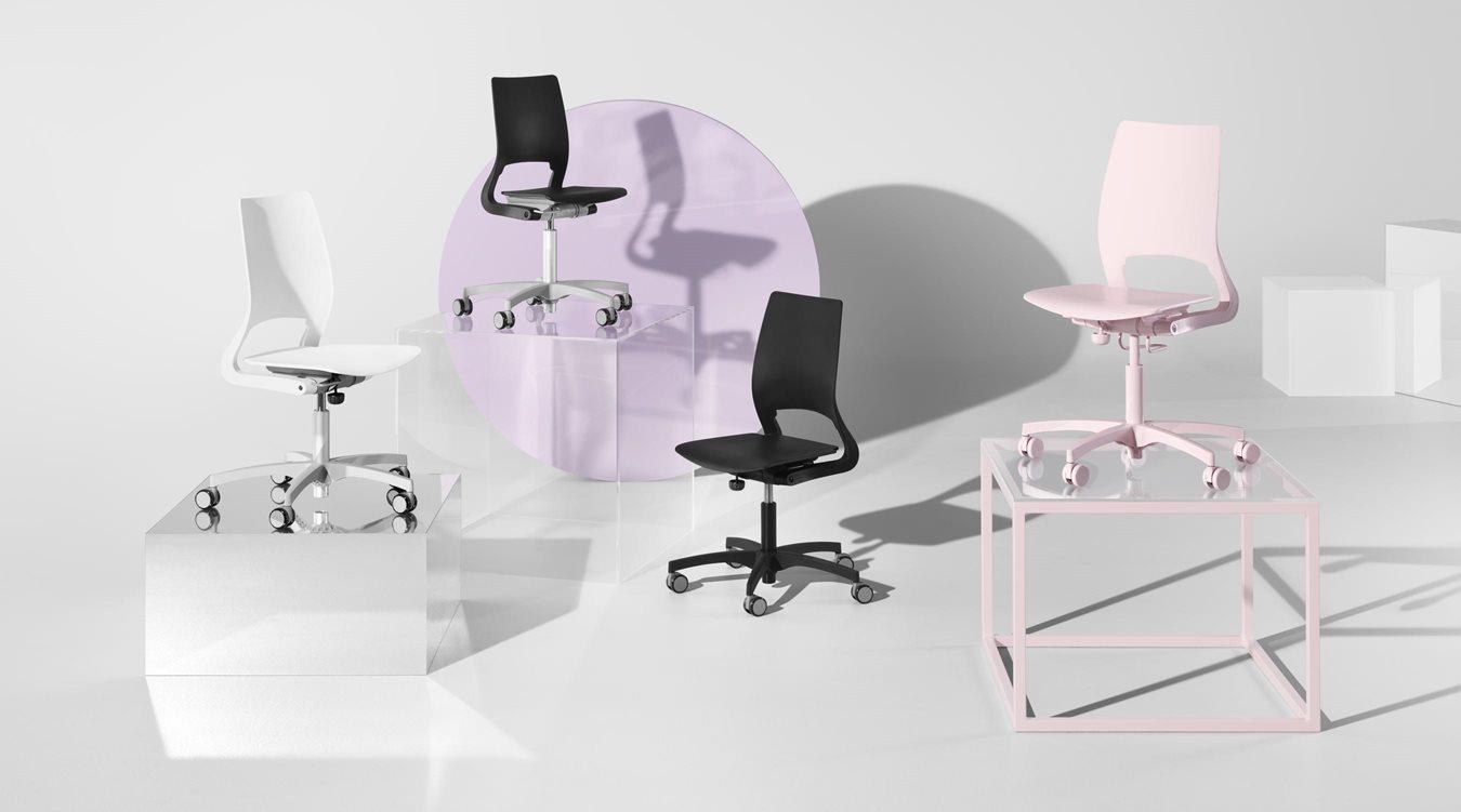 Xact Schulungsstühle - Büromöbel | Kinnarps