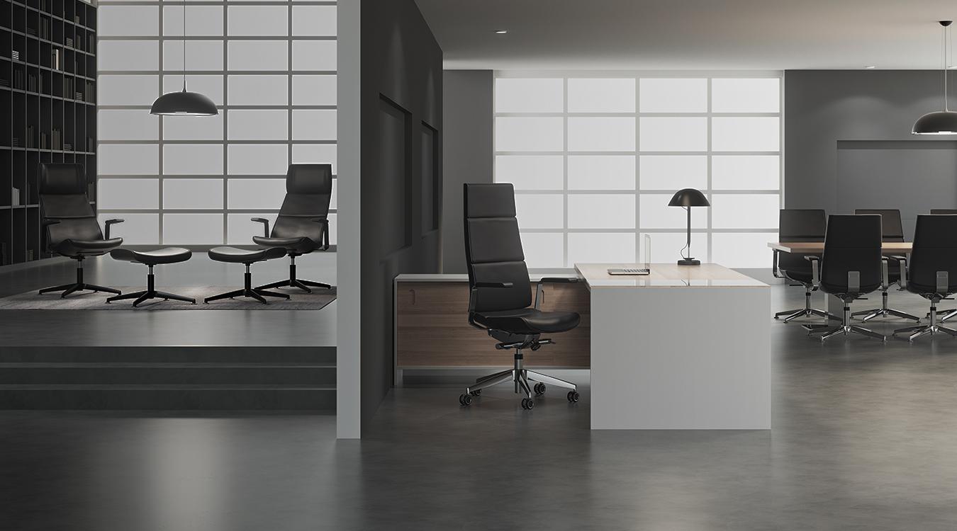 Kinnarps büromöbel aus schweden seit